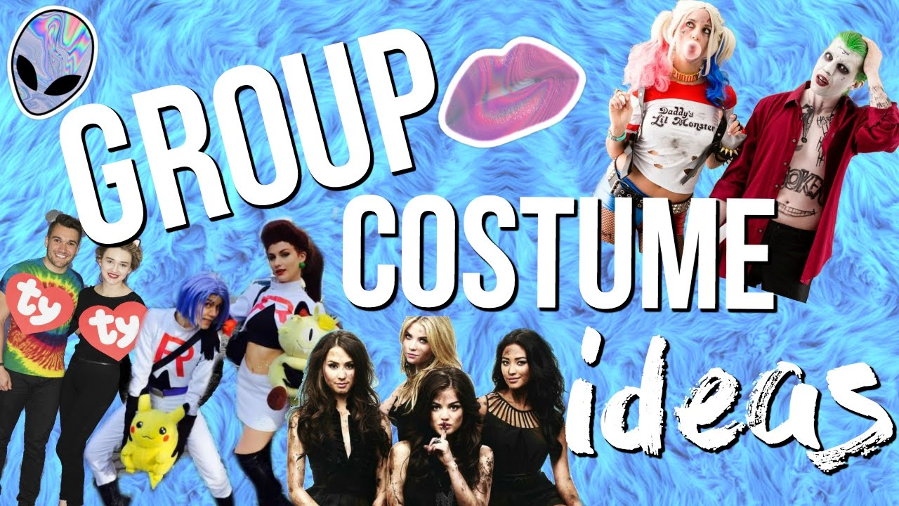 group halloween costumes creative