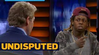 Lil Wayne vs. Skip: Is LeBron clutch? | UNDISPUTED