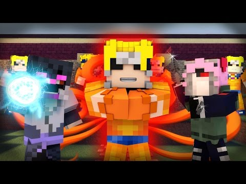 Minecraft Mod Showcase Roleplay - THE NARUTO MOD! (Custom Roleplay)
