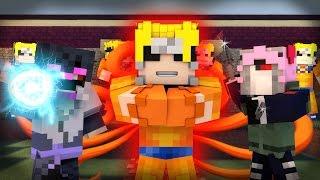 Minecraft Mod Showcase Roleplay - THE NARUTO MOD! (Custom Roleplay)