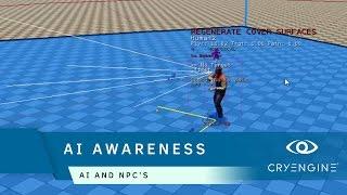 How to use AI Awareness in CRYENGINE | AI & NPCs