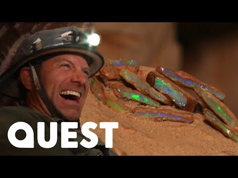 The Rookies Find Valuable Opal In A Dangerous Abandoned Mine