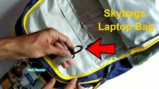 Skybags FootLoose Backpack Full Review   The Best BagPack Under 2000 Rs   Hindi   Tech Render  