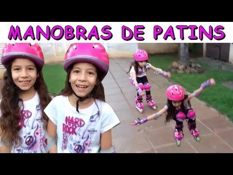 APRENDENDO MANOBRAS DE PATINS