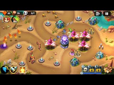 Hero Defense King - Stage 40 - Normal 3 Gems  