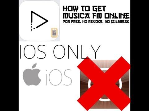 How To Get Free Music (Musica FM Online) No jailbreak, not revoke, IOS ONLY!