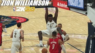 Destroying The Opposition W/ Zion Williamson | NBA 2k20 Gameplay