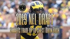 2019 NFL Draft: Steelers trade up to take ILB Devin Bush in the 1st round
