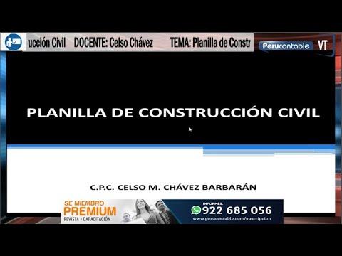 Planilla de Construcción Civil