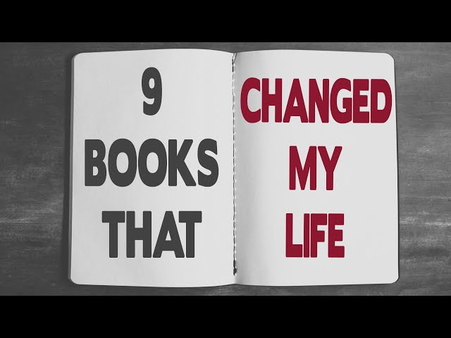 9 Books That Changed My Life – FightMediocrity Beginner's Reading List
