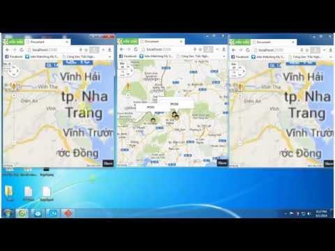 Nodejs + Google Map API V3