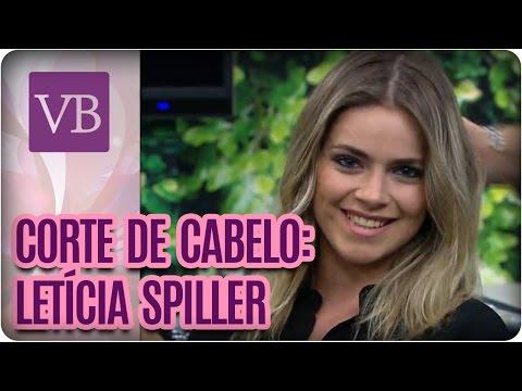Corte de cabelo: Letícia Spiller - Você Bonita (12/09/16)
