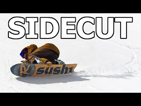 Snowboard Sidecut Explained Simply - Snowboard Tech Tips