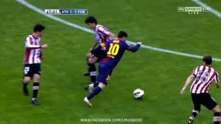 377. Lionel Messi vs Athletic de Bilbao (Away) 12-13