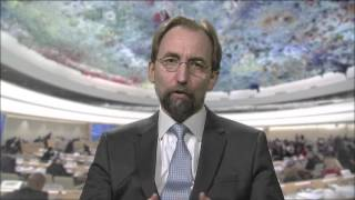 20160309 Message Zeid Ra'ad Al Hussein