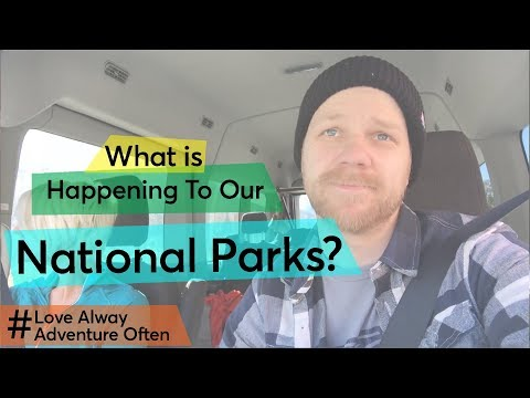 What Is Happening To Our National Parks?😬  Full Time Adventure Family