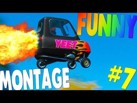 Forza Horizon 4 FUNNY MONTAGE #7