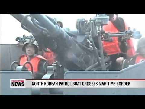 North Korean patrol boat breaches Northern Limit Line thumbnail