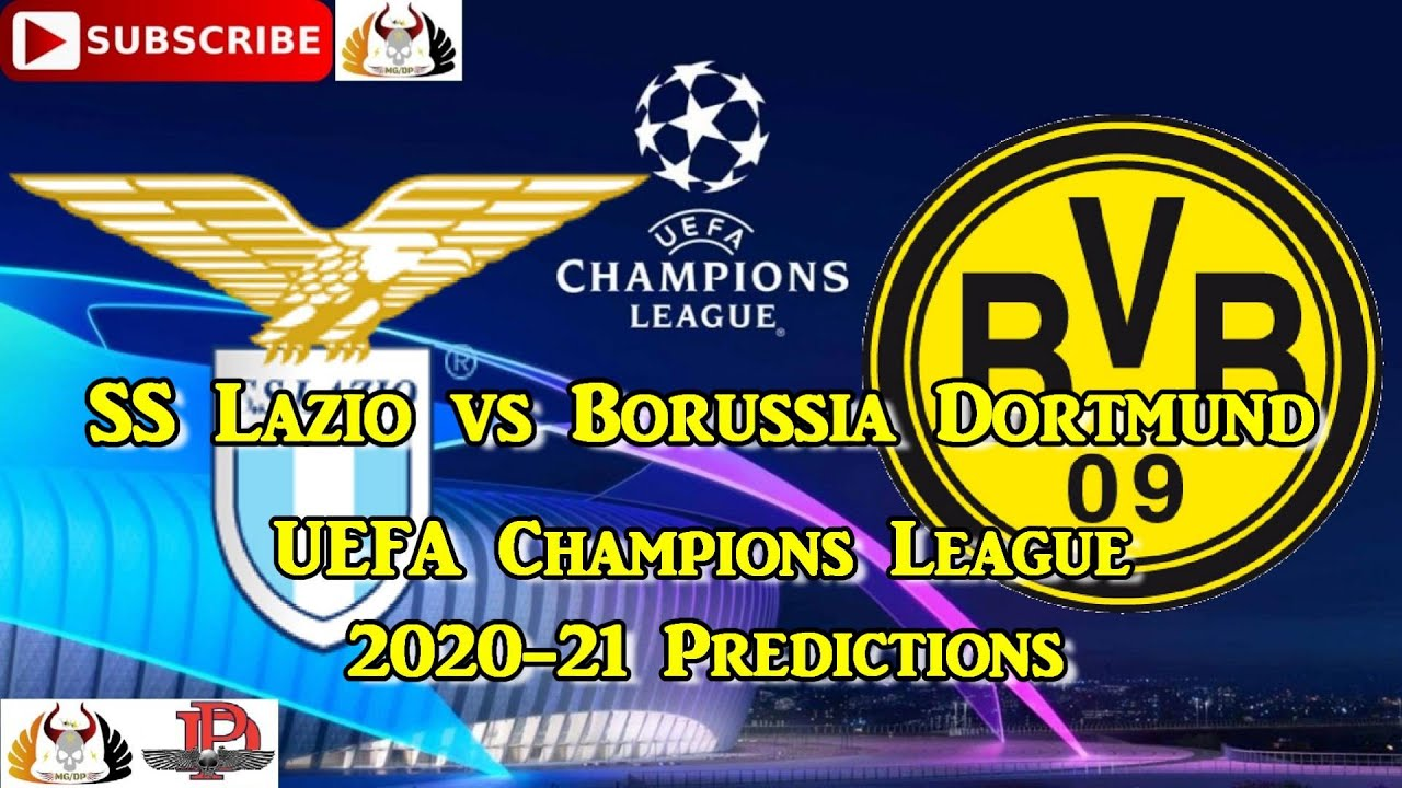Ss Lazio Vs Borussia Dortmund 2020 21 Uefa Champions League Group F Predictions Fifa 20 Youtube