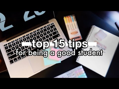 HOW TO BE A SUCCESSFUL STUDENT | high school study tips!