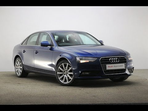 RK64YWS AUDI A4 TFSI SE TECHNIK BLUE 2014, Reading Audi