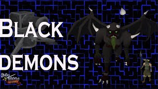 Runescape OldSchool Tasks Slayer Black Demons en Español