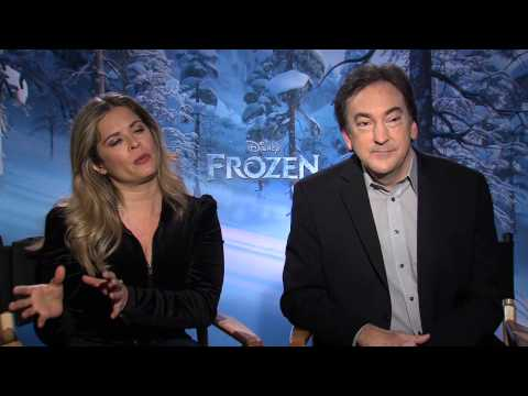 Frozen: Jennifer Lee, Director & Peter Del Vecho, Producer Official Movie Interview