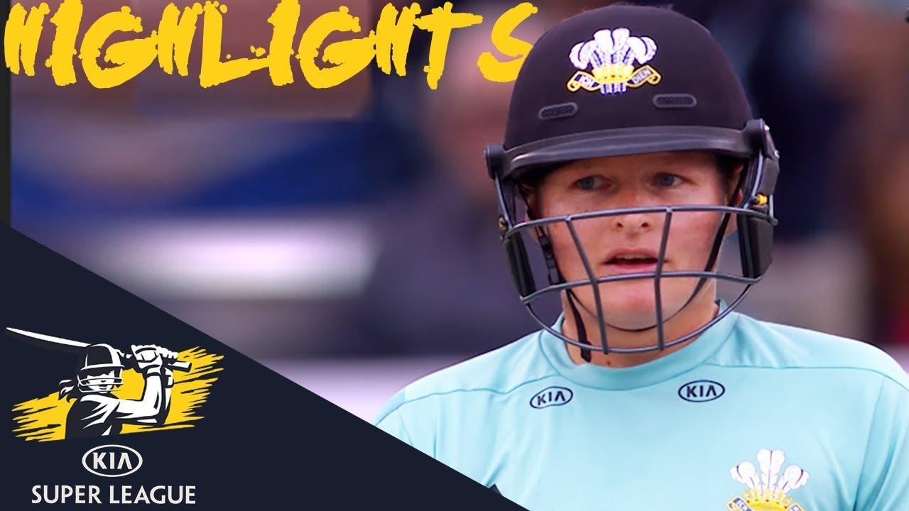 Kia Super League Final 2018   Stars v Lightning   Highlights