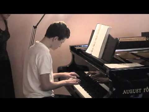 Tomer Shapira Recital Oct 2010 Prelude Op 28 No 15 by Chopin