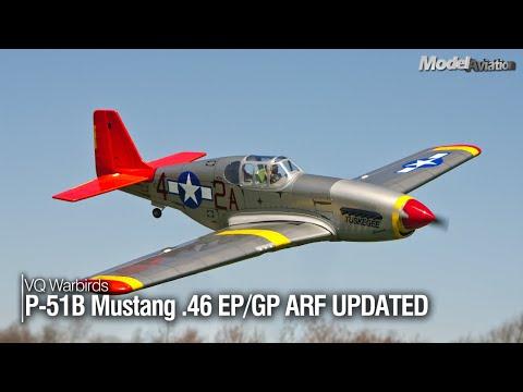 "VQ Warbirds P-51B Mustang ""TUSKEGEE AIRMEN""  46 EP/GP ARF"