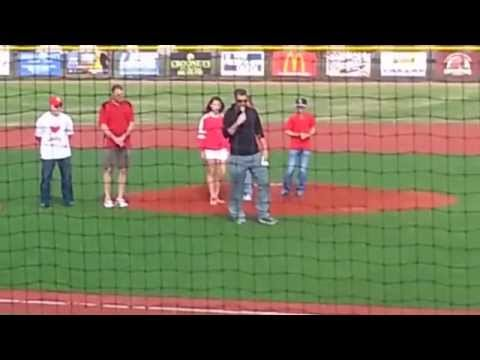 LaRoche Baseball Complex-Dave Regan Stadium Opening Ceremonies Fort Scott, Kansas