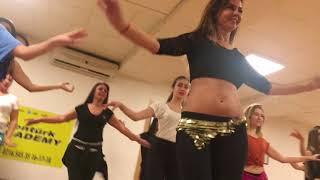 MEZDEKE DİLEK AYTUNC BENTURK DANCE ACADEMY ORYANTAL WORKSHOP