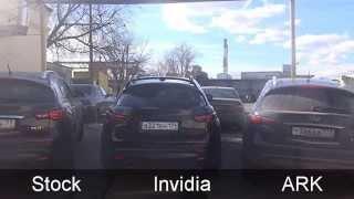Сравнение выхлопов сток/Invidia/ARK на Infiniti FX37 / exhausts comparsion on Infiniti FX37