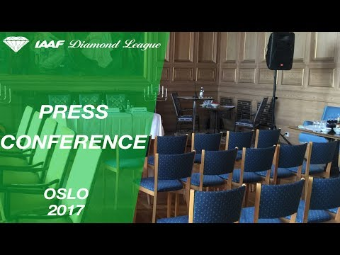 Oslo Press Conference, 2017 - IAAF Diamond League