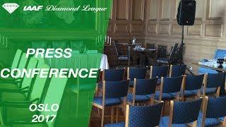 Oslo Press Conference, 2017 - IAAF Diamond League