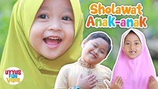 Shalawat badar versi baru di bawakan almara & uyyus, lagu anak islami sholawat ini juga viral bawahkan aishwa nahla (adek baju merah). mari...