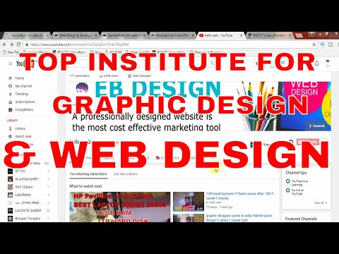 top institute for web and graphic designing in india