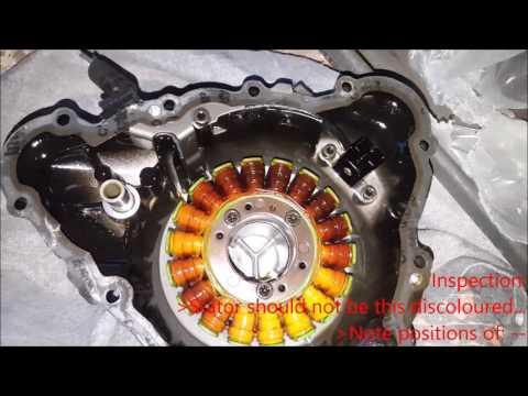 Triumph Daytona [-] CPS/Stator Replacement