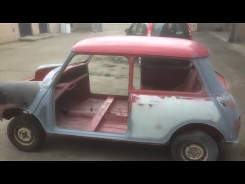 1962 Austin Mini Mk 1 Restoration