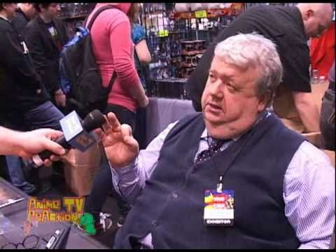 Interview with Ian McNeice at C2E2 2011