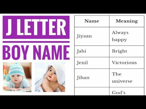 30++ J se baby boy names in hindi ideas in 2021