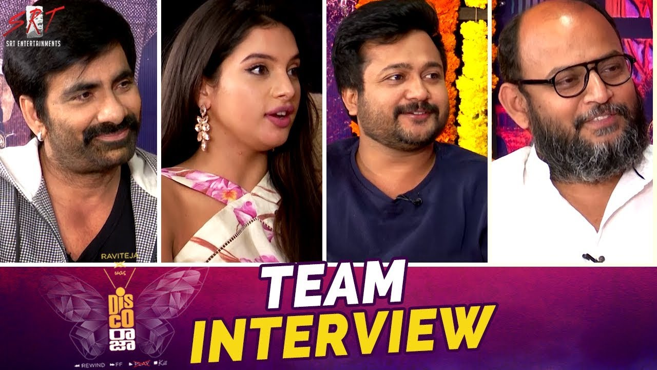 Newz-Disco Raja Movie Team Interview