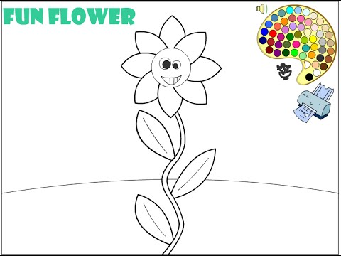 flower-coloring-pages-for-kids---flower-coloring-pages