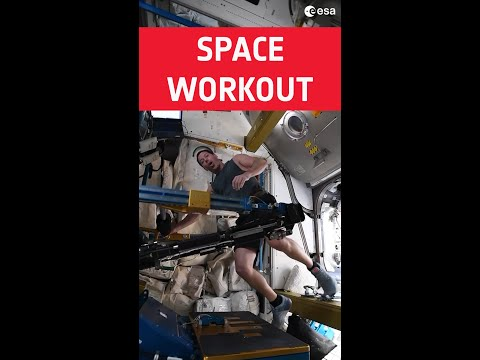 Space workout anyone? #shorts