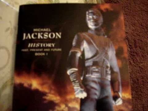 Michael Jackson HIStory Past, Present And Future Book I CD Unboxing