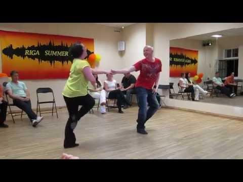 Riga Summer Swing - Teachers JnJ - Rake Salo & Hanna Tuominen