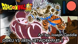 Goku Vs Jiren Artwork Part 1