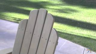 Cape Maye Weathered Adirondack Chair - Sagebrush Green - Product Review Video