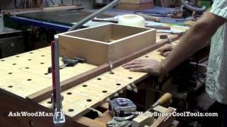 20 Four Drawer Bedside Table Routing Drawer Bottom Dados