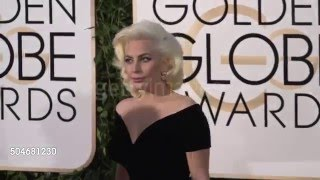 Lady Gaga at the 73rd Annual Golden Globe Awards | Red Carpet 360p
